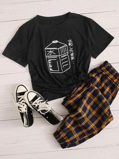 Tomboy Fashion, Teen Fashion Outfits, Outfits For Teens, Trendy Teen Fashion, Cute Casual Outfits, Pretty Outfits, Tomboy Stil, Jugend Mode Outfits, Types Of Fashion Styles