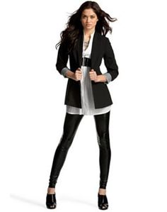 The Blazer look; Throw a blazer over many styles and outfits to make it that much better!