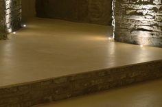 """Slaked lime floor - pastellone Veneziano serie """"anima continua"""" by Grandinetti"""