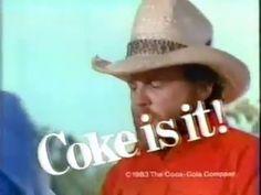 Coca-Cola ad from 1983 Coca Cola History, Coca Cola Ad, Ads, Classic, Vintage, Derby, Classic Books, Vintage Comics