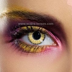 Glamour Honey Contact Lenses