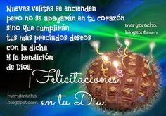 Tarjetas de felicitaciones de Cumpleaños | Tarjetas de Cumpleaños Do Anything, Christmas Bulbs, Happy Birthday, Holiday Decor, Snoopy, Diy, Tinkerbell, Birthday Message, Happy Birthday Cards