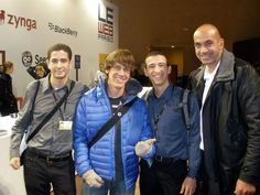 SMSBridge at LeWeb2010 with Loic Lemeur and Denis Crowley