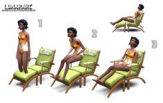Lunararc Sims : Luana Lounge Chair