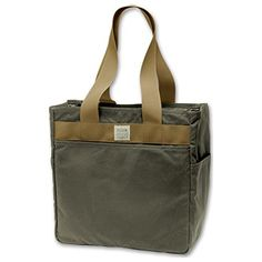 Filson Tin Cloth Tote Bag  Otter Green >>> Find out more about the great product at the image link.