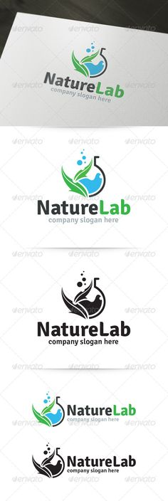 Nature Lab Logo #GraphicRiver About the Nature Lab Logo Template: Nature Lab is a stylish and creative corporate logo template for various business purposes. This logo is build with 100% vector shapes and easy to customize to your needs. What's in the download? A unique, fully editable and resizable vector logo. Vertical and Horizontal variations Black and white version Illustrator AI file (CS and higher) Illustrator EPS10 file (CS and higher) Readme file with font download...