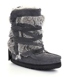 Manitobah Mukluks Half-Wrap Cold-Weather Boots