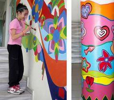 Πάτρα: Τα παιδιά zωγραφίζουν στους τοίχους... του σχολείου τους! - Κοινωνία - The Best News
