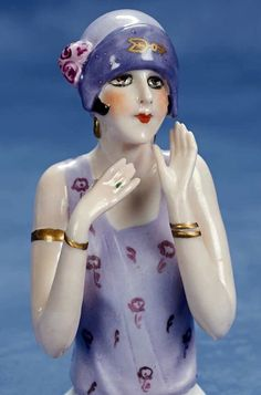 Art Deco Half Doll