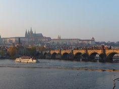 Mala Strana and the Charles Bridge, Prague by Camille Johnston