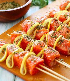 Balık+Limon+Taze Kekik+Susam+Sarımsak