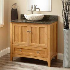 meuble salle de bain bambou et accessoires en 50 ides - Accessoire Salle De Bain Bambou