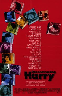 """Deconstructing Harry, by Woody Allen (1997) // """"between air conditioning and the pope, i'll take air conditioning."""""""