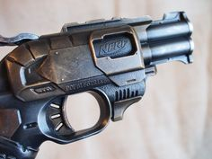 Nerf Doublestrike New Steampunk Fallout Custom Paint for LARP Cosplay | eBay