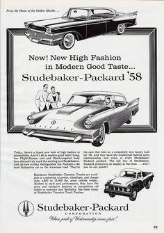 1958 Studebaker-Packard Ad | Flickr - Photo Sharing!