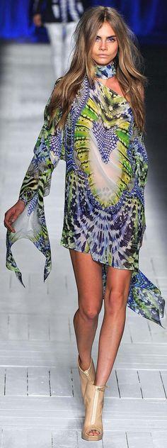Just Cavalli Spring Summer 2013 Ready to Wear Collection .CARA. CARA. CARA