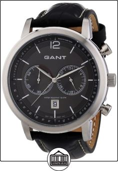 GANT W10941 - Reloj de pulsera hombre, piel, color negro de  ✿ Relojes para hombre - (Gama media/alta) ✿