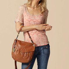 FOSSIL® Handbag Silhouettes Crossbody:Women Modern Cargo Convertible Flap ZB5054