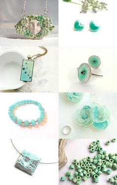 Beautiful Mint by Maria on Etsy--Pinned with TreasuryPin.com