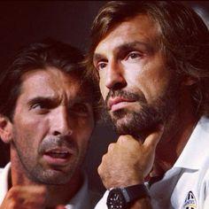 Pirlo y Buffon.