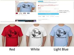 We now have Red, White and Light Blue Alle Shea Project colored T-shirts. The price is $15 each no matter what color. You can have them shipped to you for an extra shipping fee or you can have them shipped to us for free and we will set up delivery/pick-up to you. All money raised will help us ship Snuggle Buddy care packages to OI children all over the world Please tell you friends and help us keep Alle's fight alive and make OI children smile all over the world…