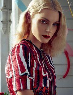 Jessica Stam by Sofia Sanchez & Mauro Mongiello for Numéro China April 2015 7