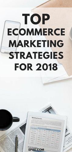 eCommerce Marketing Strategies For Businesses In 2018 Running an online business? Check out top eCommerce Marketing Strategies To Grow Your Business in an online business? Check out top eCommerce Marketing Strategies To Grow Your Business in 2018 Marketing Plan, Business Marketing, Social Media Marketing, Marketing Strategies, Content Marketing, Affiliate Marketing, Business Infographics, Digital Marketing Strategy, E Commerce Business