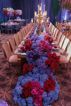 Sophisticated Floral Fairytale at Taglyan Complex- Chameleon Chair Collection featured in Strictly Weddings. themes fairytale Sophisticated Floral Fairytale at Taglyan Complex Wedding Table Decorations, Wedding Themes, Wedding Centerpieces, Wedding Venues, Wedding Reception, Destination Wedding, Wedding Photos, Wedding Ideas, Purple Wedding