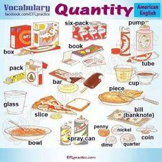 Resultado de imagen para quantity phrases