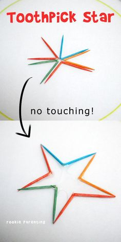 Toothpick Star Science Experiment – This science experiment is simply magical. S… Toothpick Star Science Experiment – This science experiment is simply magical. Show your kids how you can turn broken toothpicks into a star without touching them. Kid Science, Water Science Experiments, Star Science, Science Kits, Teaching Science, Summer Science, Forensic Science, Physical Science, Science Classroom