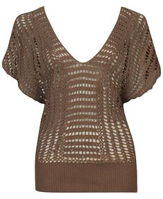 31: idea, crochet top; Crochet Shawls, Shirts and Wraps: 2, 7, 13, 18, 31, 65, 93.