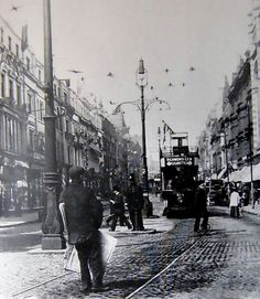 1904 lord street decorated for king edward vii