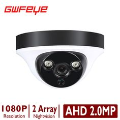 GWFEYE Mini Domel AHD 1.0MP 720P/2.0MP SONY IMX323 1080P Indoor Waterproof  Security Surveillance CCTV Cameras With IR Cut