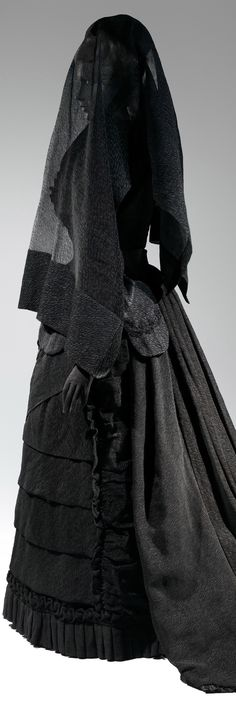 Anna Wintour's next met exhibition, Death Becomes Her: A Century of Mourning Attire.