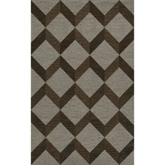 Dalyn Rug Co. Bella Gray/Brown Area Rug Rug Size: 3' x 5'