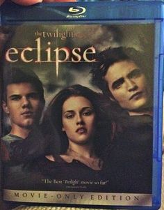 Twilight: Eclipse Blu Ray