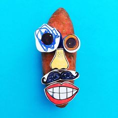 Fun, sustainable and original art and craft ideas for kids Mr Potato Head, Potato Heads, Diy For Kids, Crafts For Kids, Arts And Crafts, History For Kids, Art History, Recycled Crafts Kids, Creative Thinking