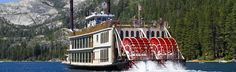 The Tahoe Queen - South Lake Tahoe Cruises - Zephyr Cove Resort. You have to do it at least once! http://visit-eldorado.com/