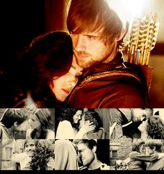 Robin and Marian.seriously cranky at the BBC for what they did to them. Movies Showing, Movies And Tv Shows, Jonas Armstrong, Robin Hood Bbc, Maid Marian, King Richard, I Want To Cry, Tv Couples, Film Serie