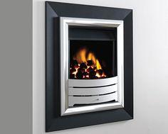 Legend Fires - Virage Wall Fires, Chimney Breast, Back Plate, Floor Space, Wall Design, Modern Design, Interior Design, Fireplaces, Wood
