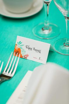 Guest place card ide