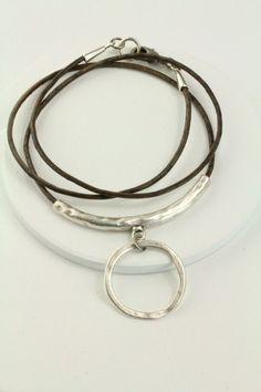Leather Lanyard Loop Eyeglass Chain Leather eyeglass by Maetri