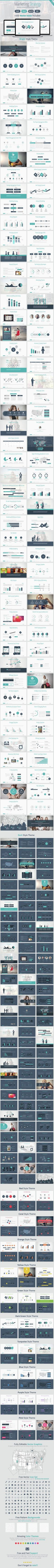 Marketing Strategy Powerpoint Presentation (PowerPoint Templates) #BusinessAnalyst