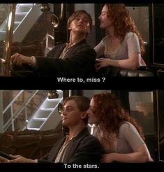Jack and Rose... Titanic :)