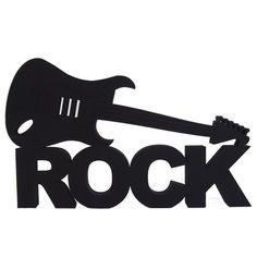 Rock N Roll Guitar Labeled Cute Home Laptop Decal Vinyl Car Window Bumper Die Cut Festa Rock Roll, Rock N Roll, Kratz Tattoo, Rockstar Party, Tatouage Rock And Roll, Image Svg, Rock Poster, Music Drawings, Music Party