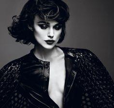 Keira Knightley heeft een coole fotoshoot gedaan voor Interview Magazine.