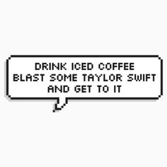 Taylorswift taylor ts sticker rep reputation for Taylor swift coffee shop