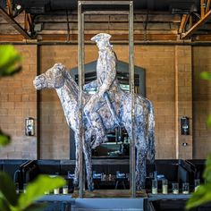 5th & Taylor, Germantown. James Beard nominated chef Daniel Lindley. Bespoke design in a large industrial space anchored by an impressive sculpture of General Francis Nash by Cessna Decosimo. Great experience. 9/10.
