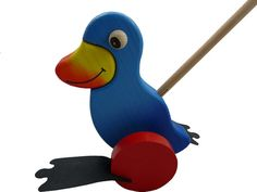 Wooden Toys wooden push toy push toys pull toys by nkcraftstudio