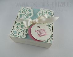 www.rosa-pink-glitzer.de: Box mit Thinlits Florale Fantasie von Stampin Up
